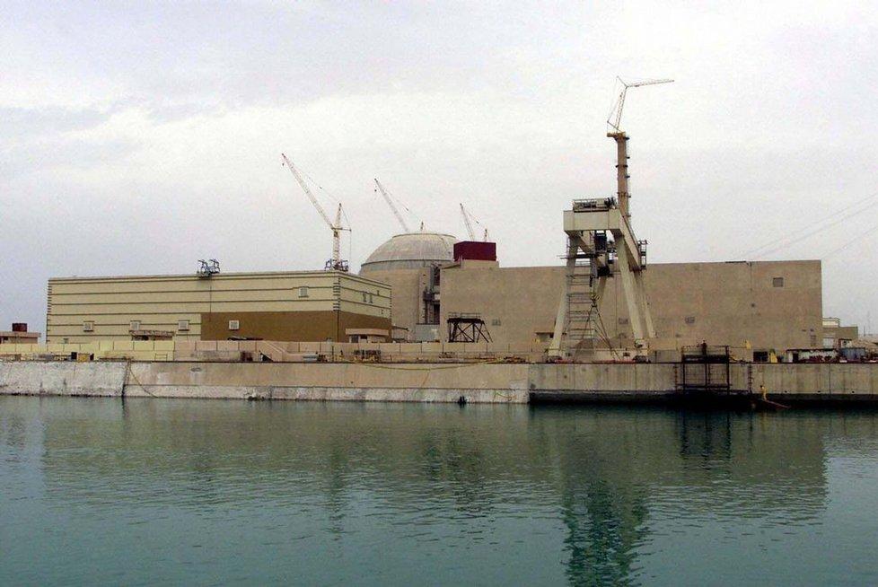 Íránská jaderná elektrárna Búšehr