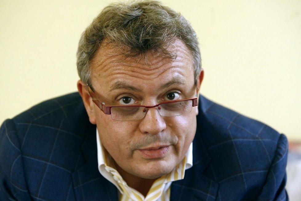 Dlouholetý prezident Hospodářské komory Vladimír Dlouhý