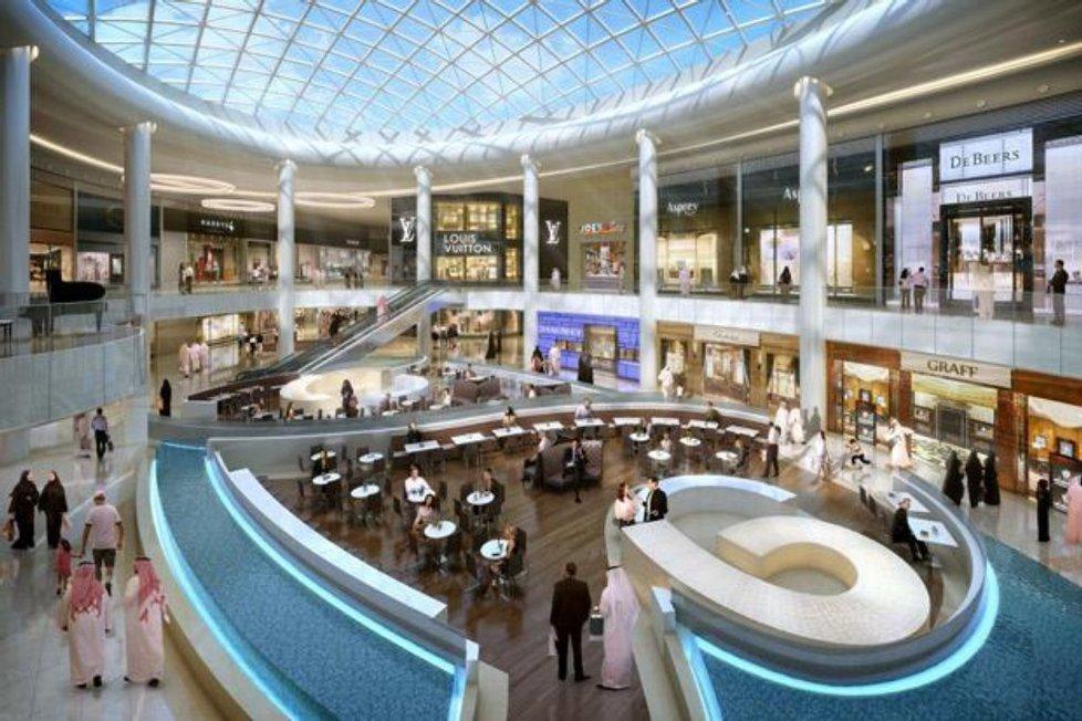 obchodní centrum Yas v Abú Zabí