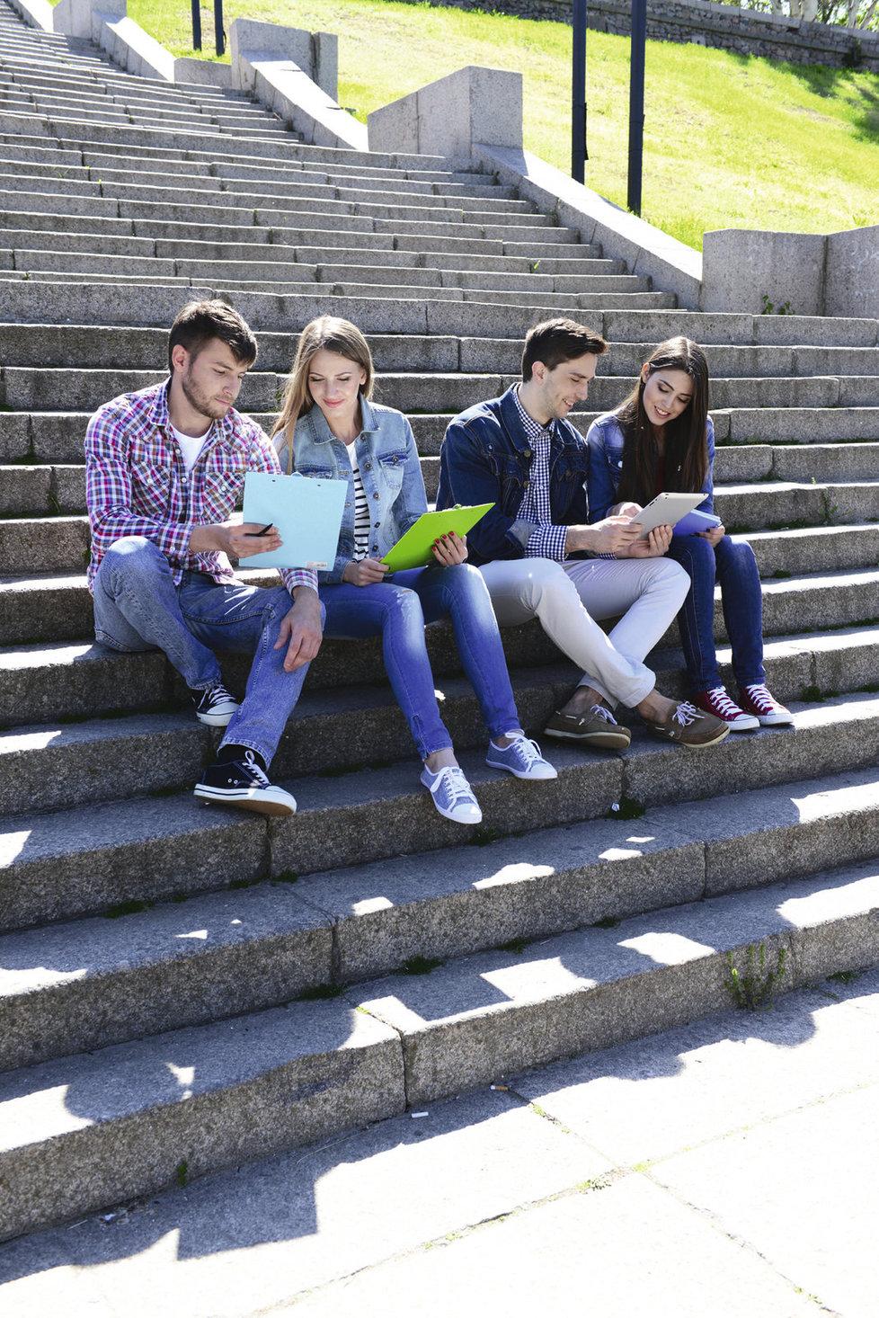 Využívejte studentské slevy.