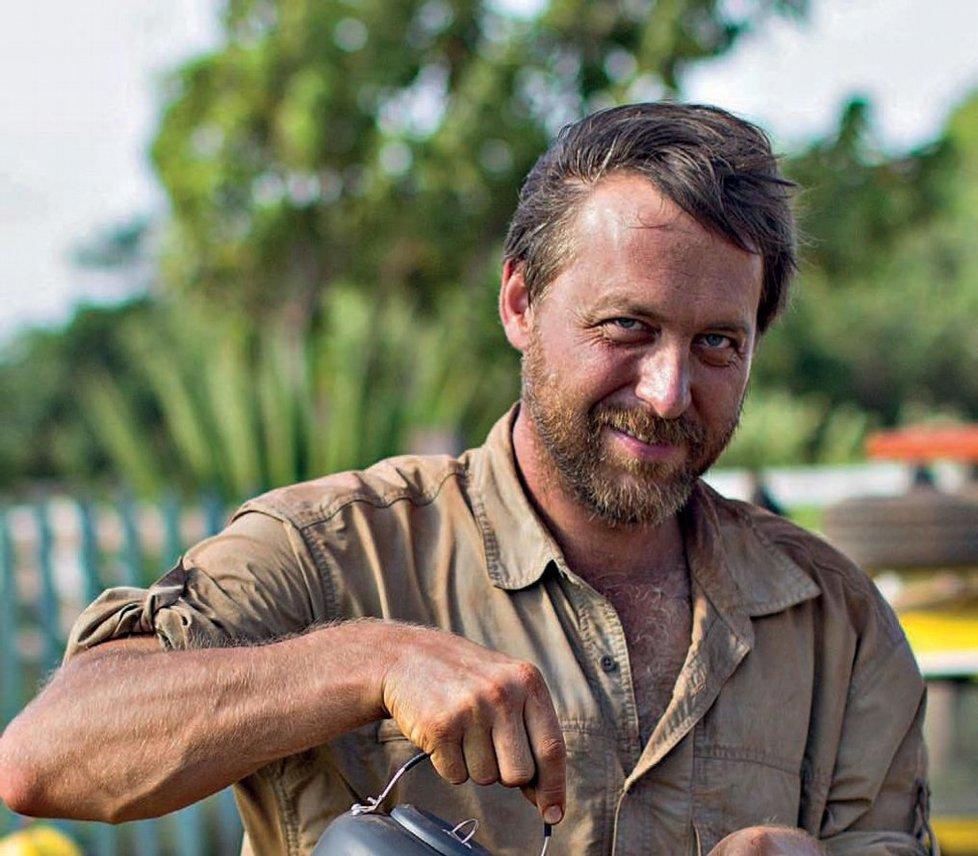 Dokumentarista a cestovatel Dan Přibáň