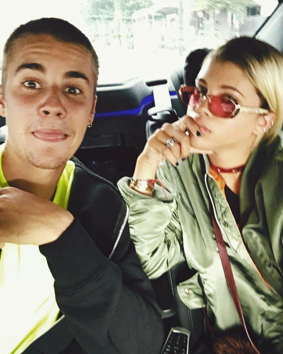 Justin Bieber a Sofia Richie