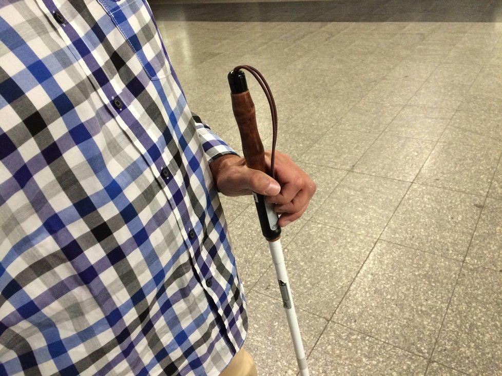 Jak nevidomí zvládají každodenní starosti?
