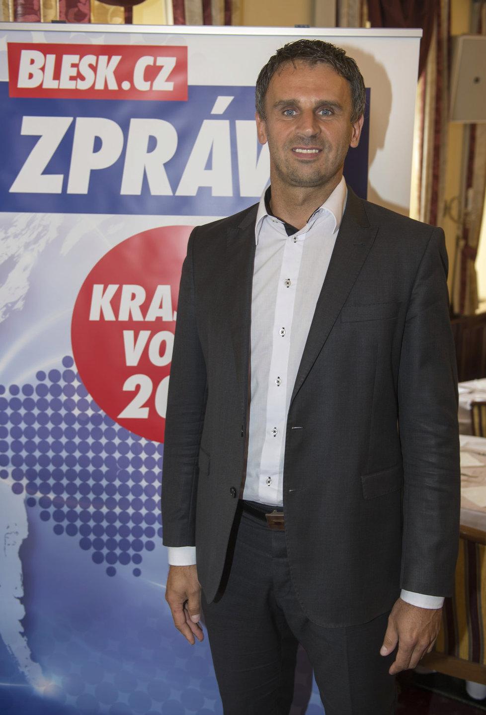 Jiří Zimola z ČSSD by se znovu stal hejtmanem v jižních Čechách.