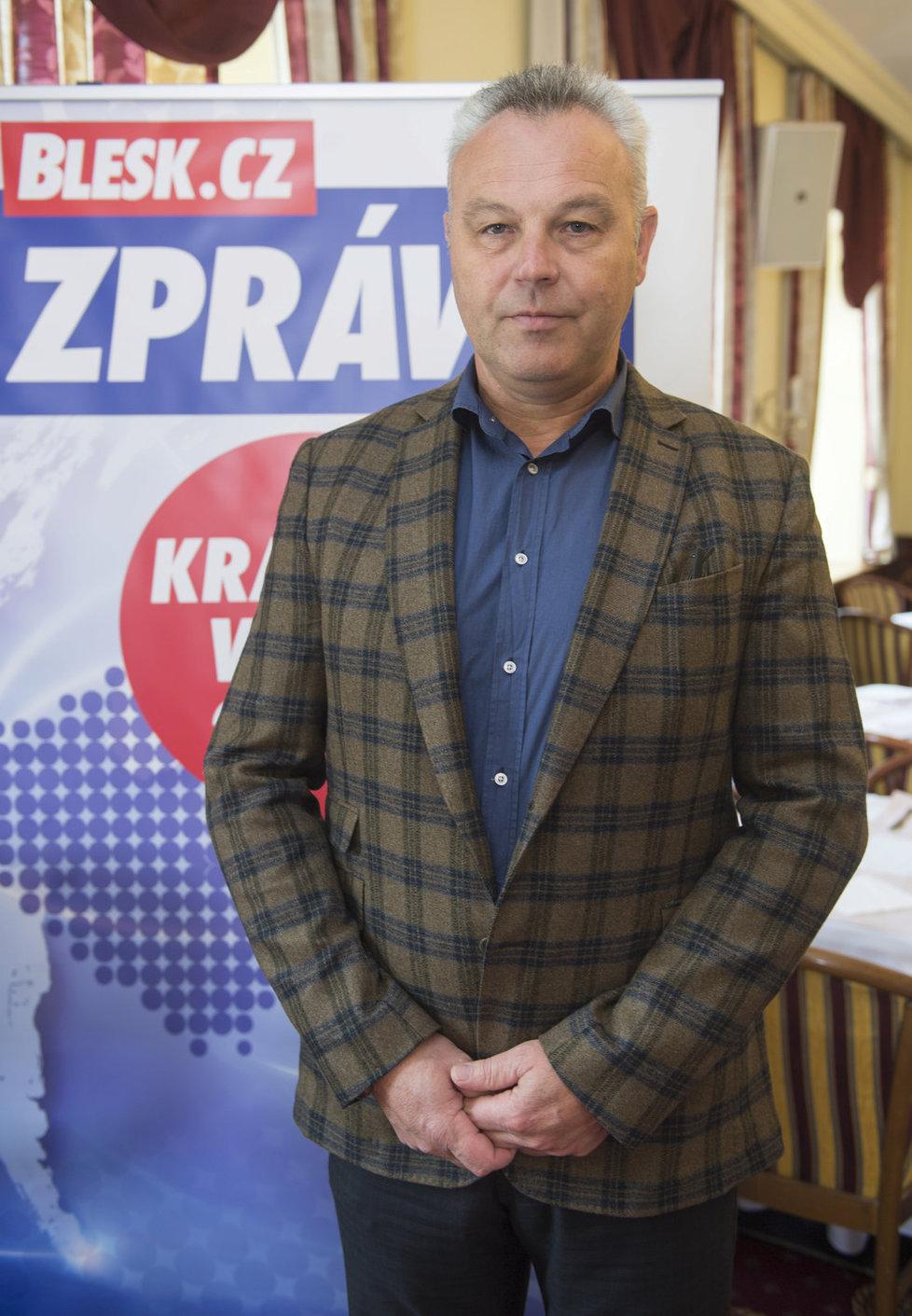 Pavel Talíř z KDU-ČSL je lídr jihočeské kandidátky.