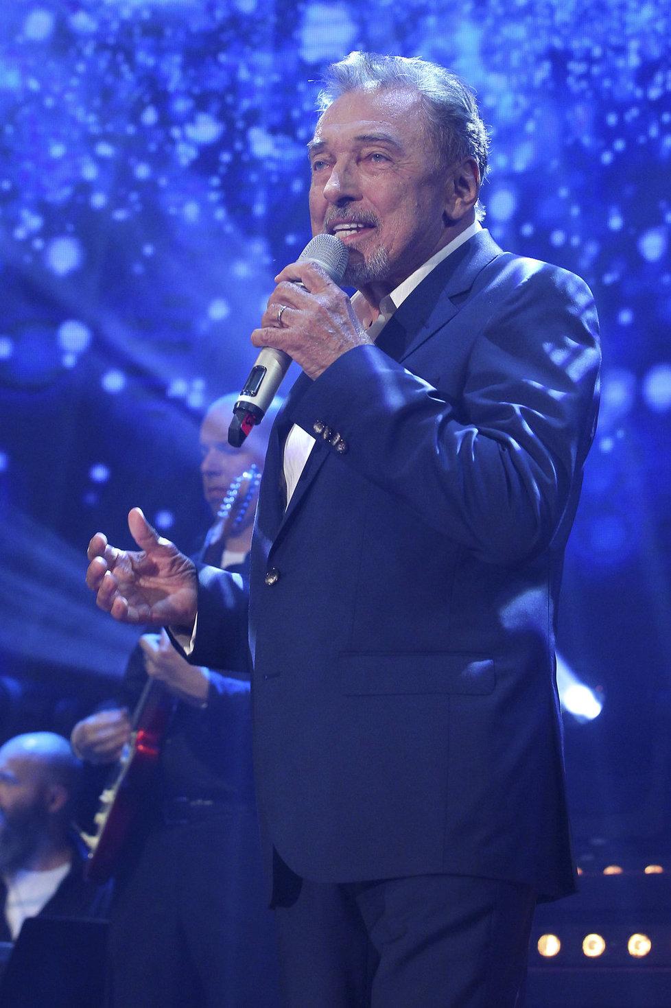 Karel Gott zpíval na koncertě Hany Zagorové.