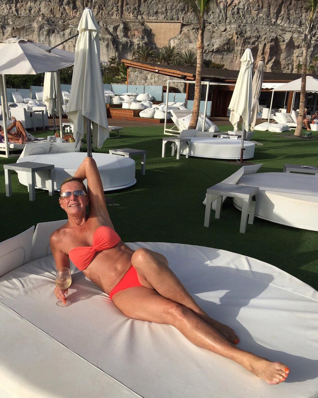 Helena Vondráčková si užívala dovolenou na Kanárských ostrovech.