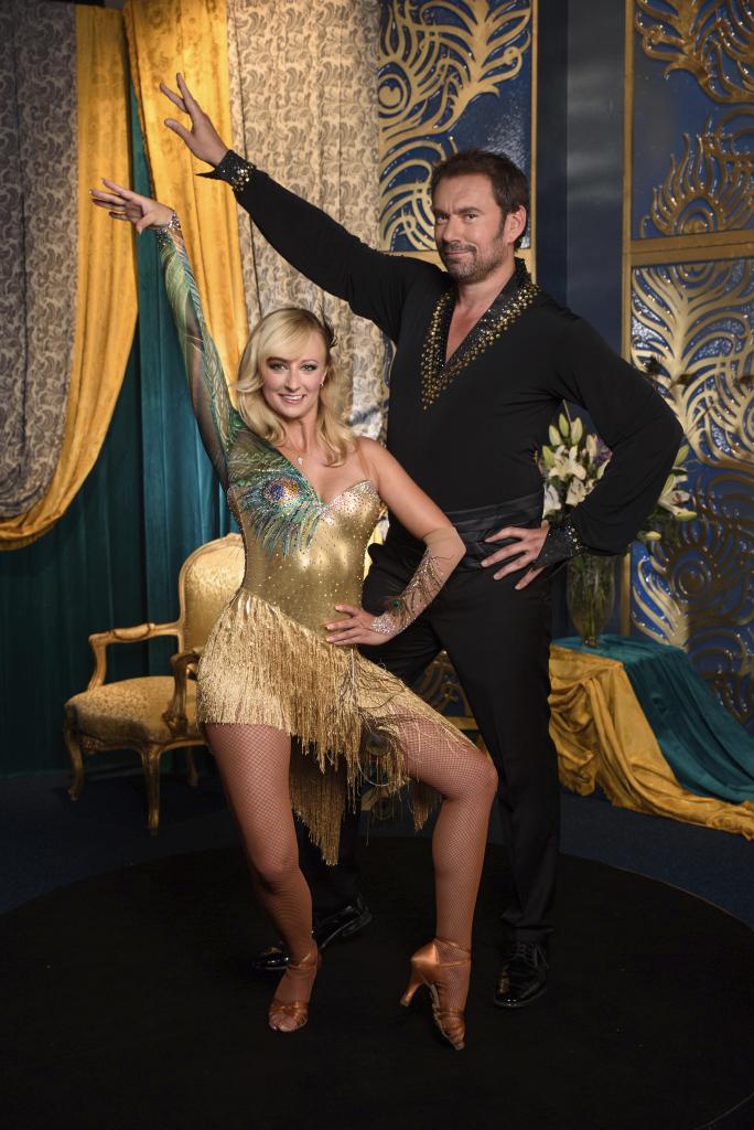 Emanuele Ridi se svou taneční partnerkou