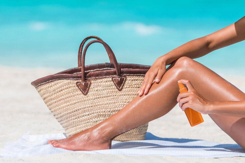 Taška na pláži