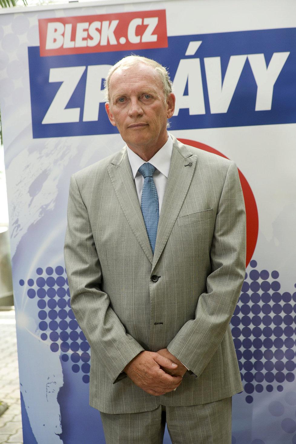 Alexander Černý z KSČM kandiduje jako lídr komunistů pro Olomoucký kraj.