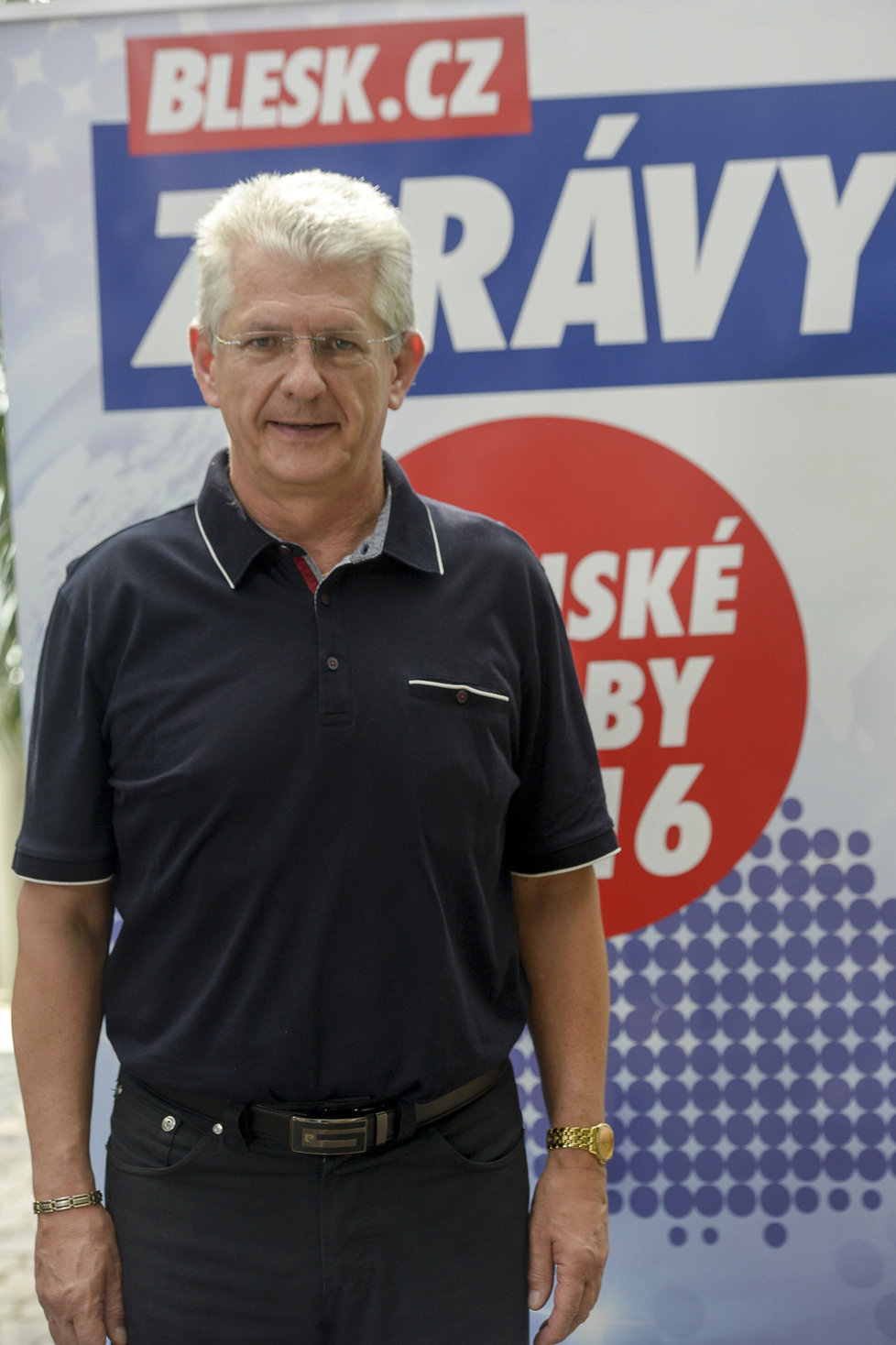Kandidát Hnutí ANO v Olomouckém kraji Oto Košta.