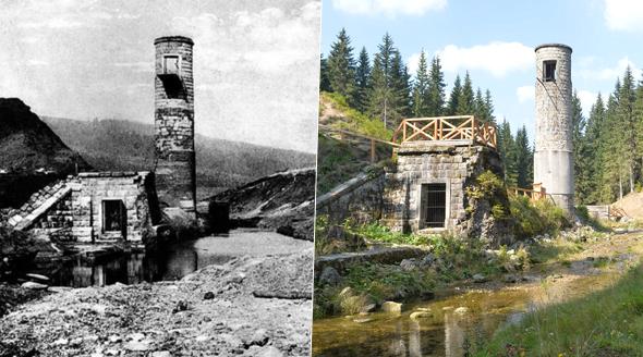 100 let od protržení přehrady Desná: 67 mrtvých, přes stovku zničených domů.