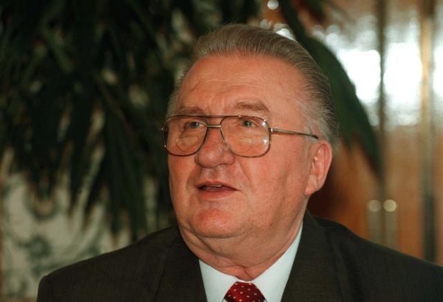 Bývalý slovenský prezident Michal Kováč