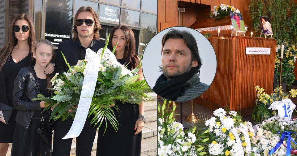 Marek Jankulovski s manželkou a dcerami pohřbil kluka z rodiny!