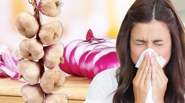 Česnek i cibule jsou přírodní zbraně proti chřipkám a nachlazení.
