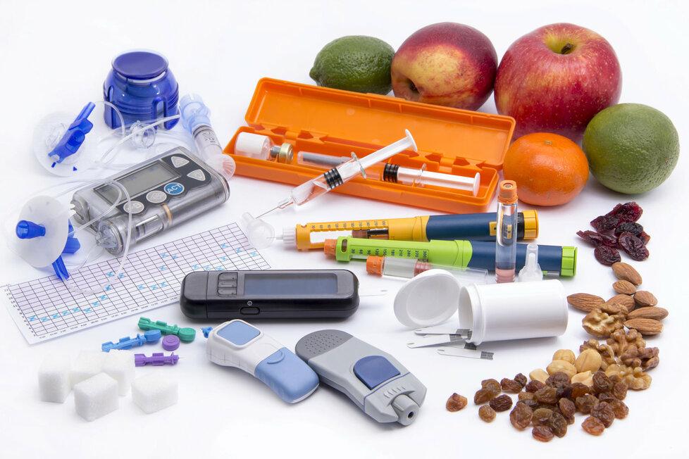 Diabetik musí vždy sledovat, co jí.