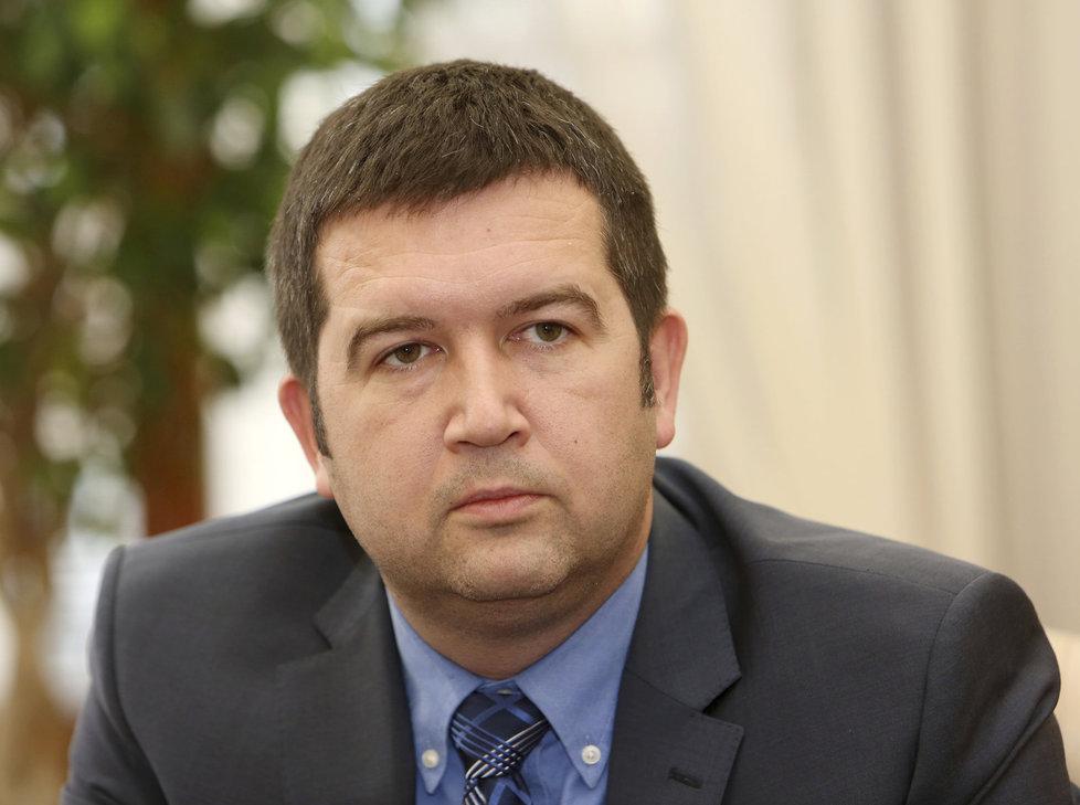 Šéf Sněmovny Jan Hamáček