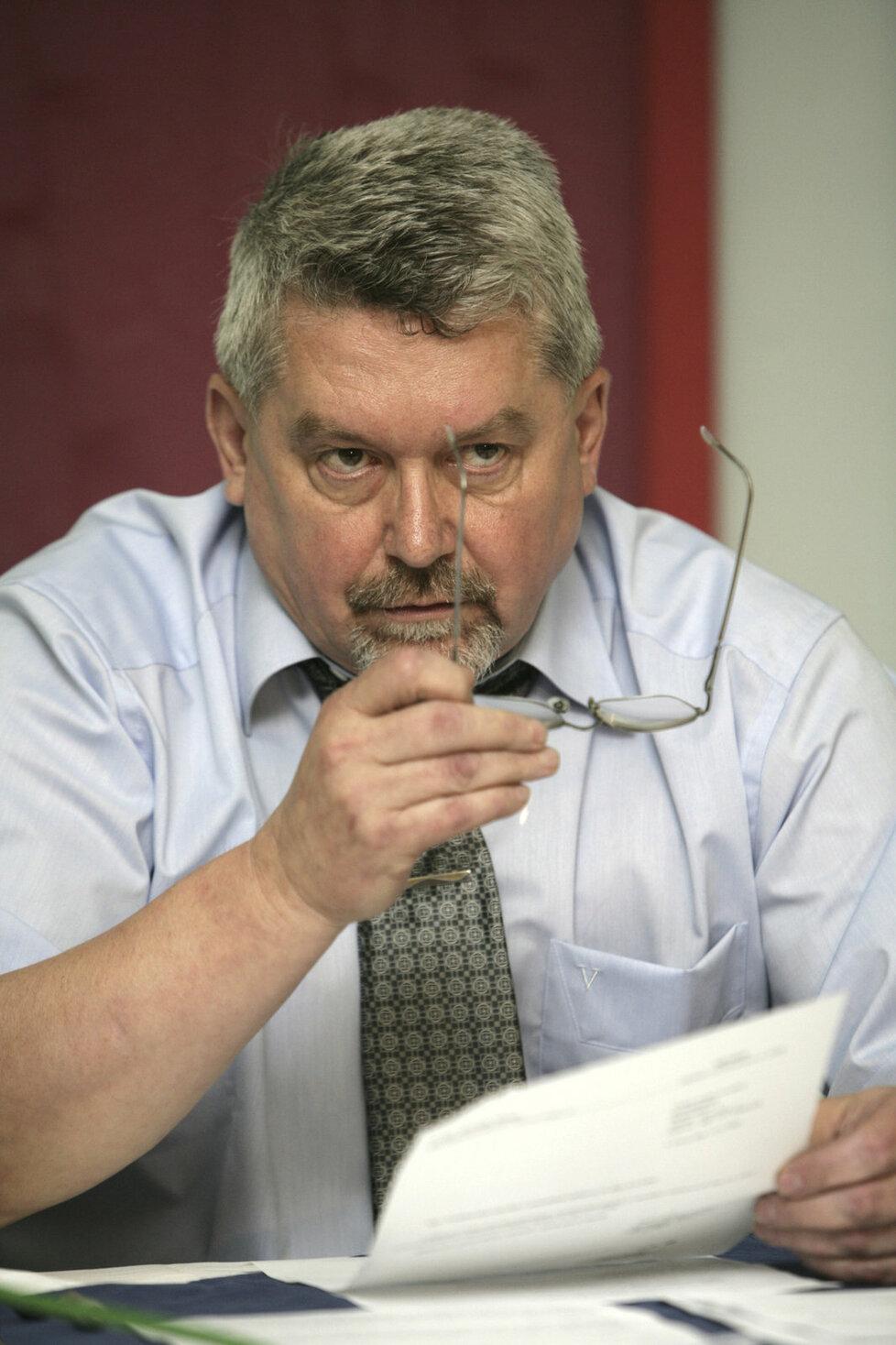Někdejší advokát Zdeněk Altner v roce 2006