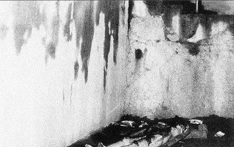 Zohavené tělo oběti Antonína Marčíka