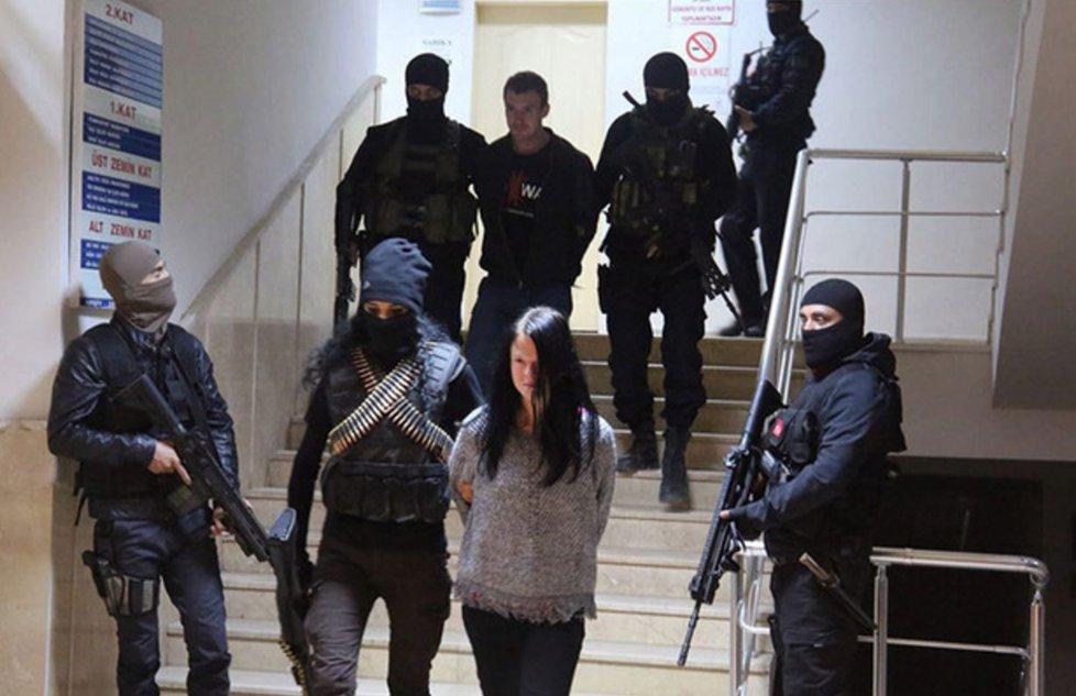 Miroslav Farkas a Markéta Všelichová zadržení v Turecku