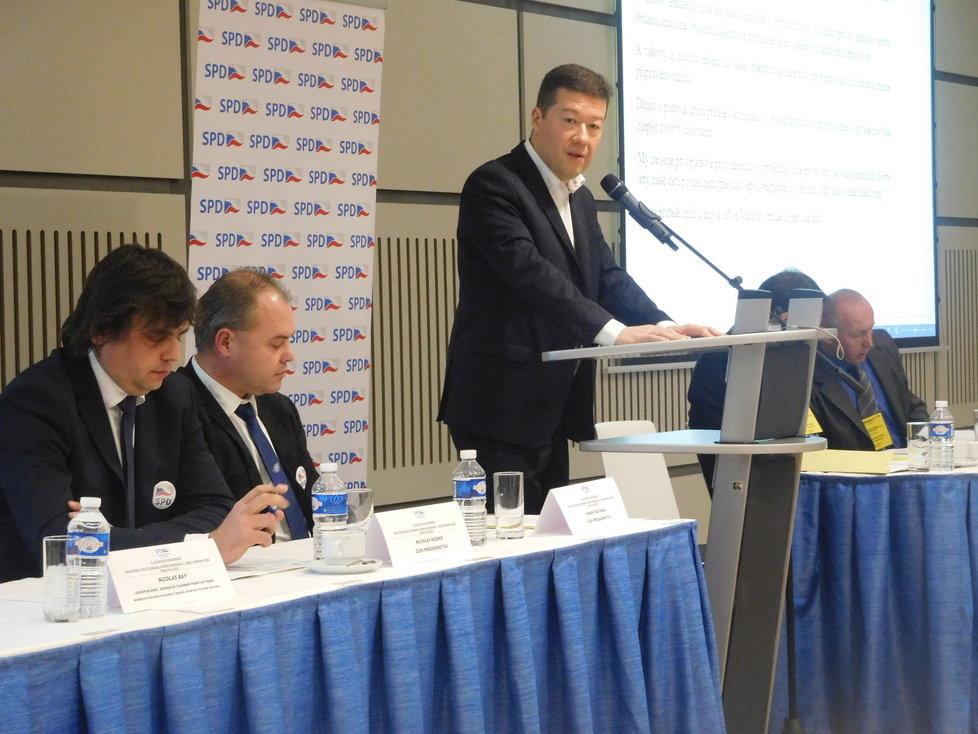 Konference Okamurovy SPD v Praze
