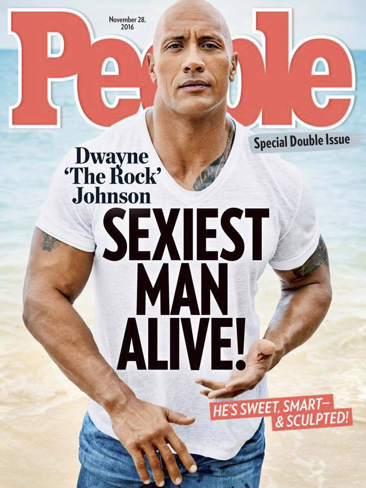 2016: Dwayne Johnson (The Rock)