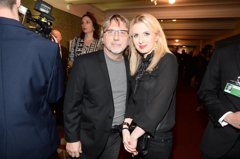 Dalibor Janda s dcerou Jiřinou Annou.