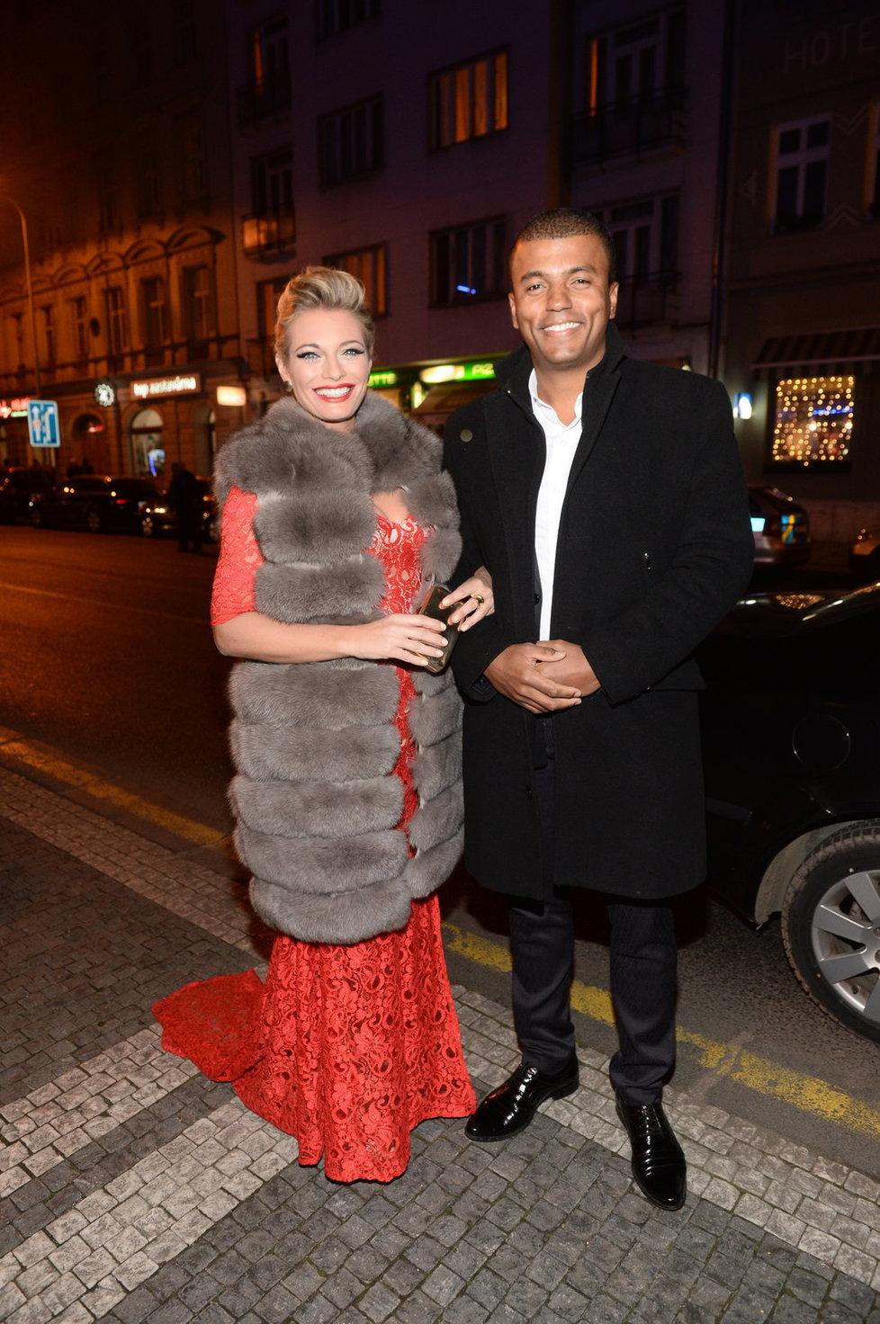 Lucie Borhyová a Rey Koranteng