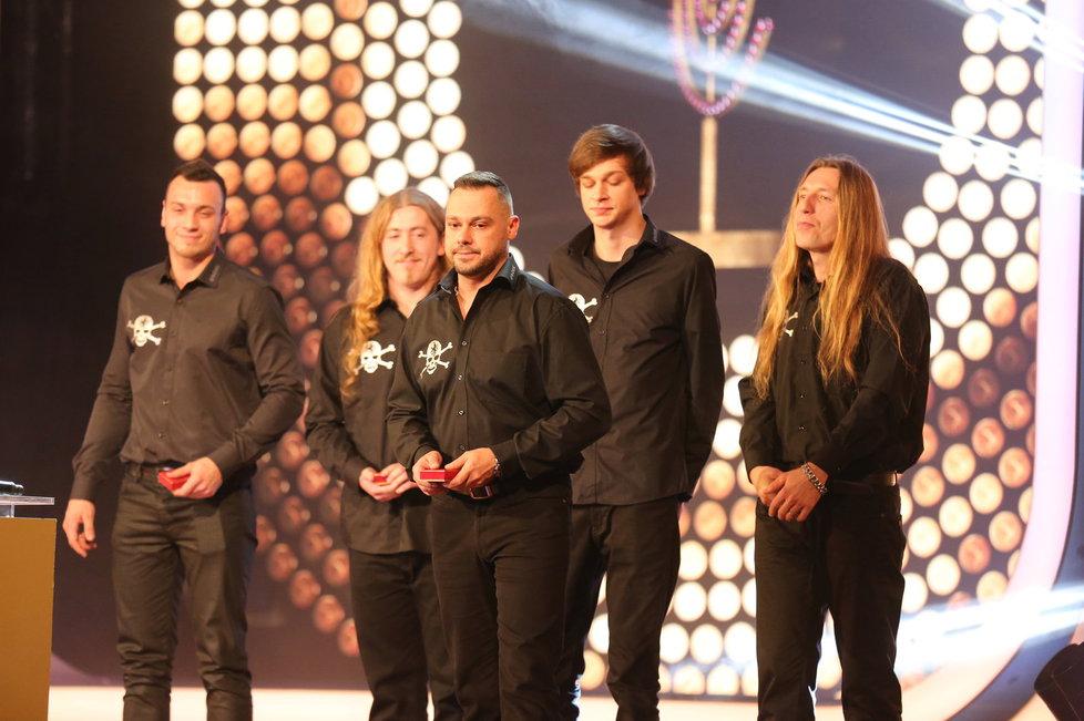 Druhý místo v kategorii skupin získal Ortel