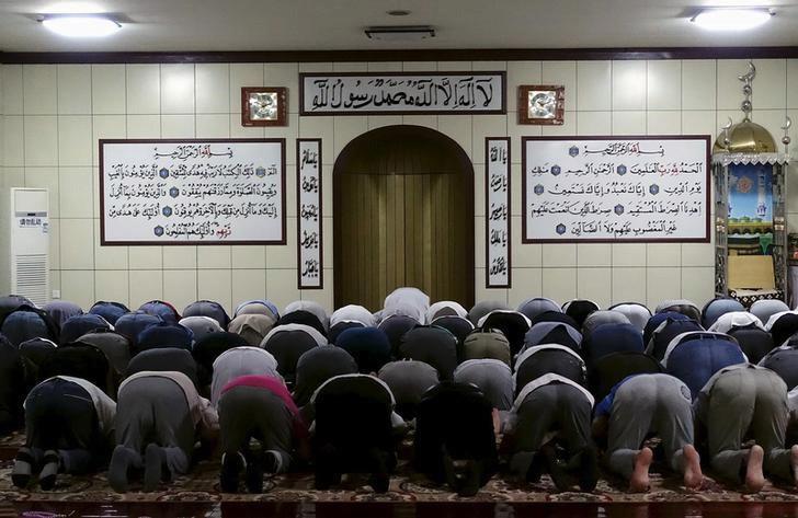 Ujgurští muslimové v provincii Sin-ťiang