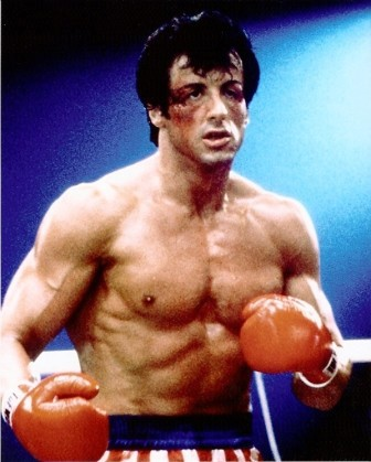 1976 – Sylvester Stallone po úspěchu filmu Rocky