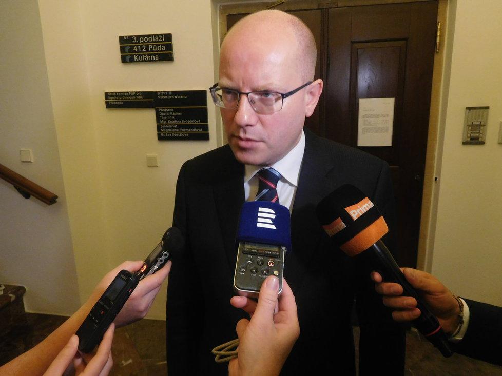 Premiér Bohuslav Sobotka se vyjádřil i k problémům kolem ROP Severozápad.