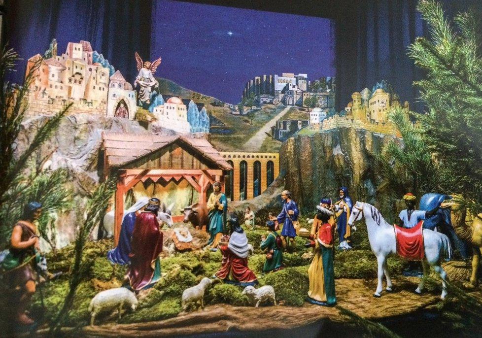 Osud betlému v Kostele svatého Havla ovlivnila řada krádeží.