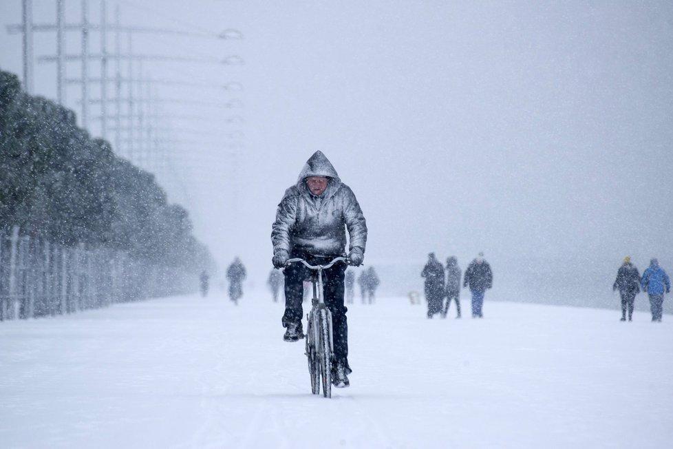 Mrazy a sníh v Řecku