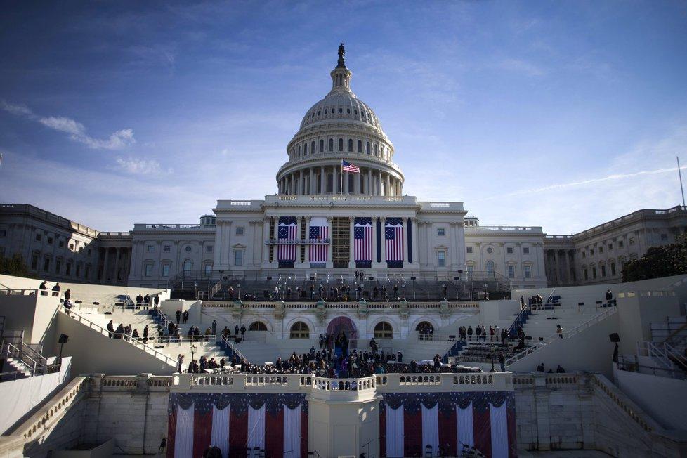 Washington se připravuje na Trumpovu inauguraci