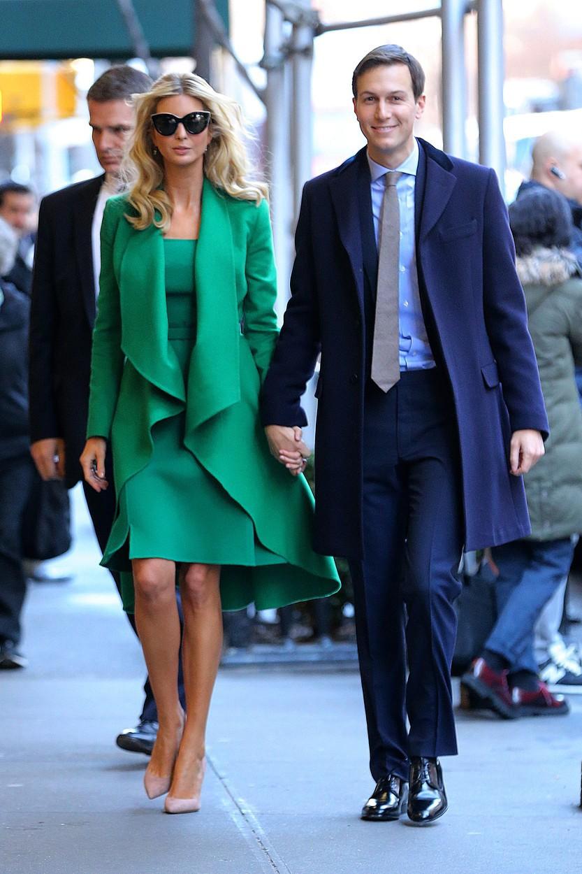 Ivanka s manželem Jaredem Kushnerem