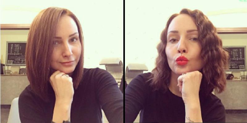 Veronika Arichteva (31) si nechala vlasy zkrátit skoro před půl rokem. Rovná varianta je vhodná pro ty, které mají jemné vlasy. Pomocí kulmy a stylingových přípravků ale můžete vytvořit i objem!