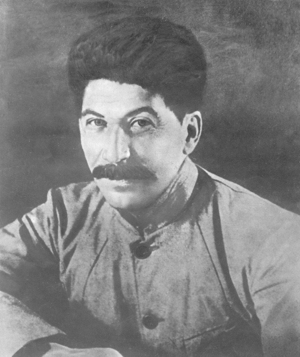 Josif Vissarionovič Stalin zamlada.