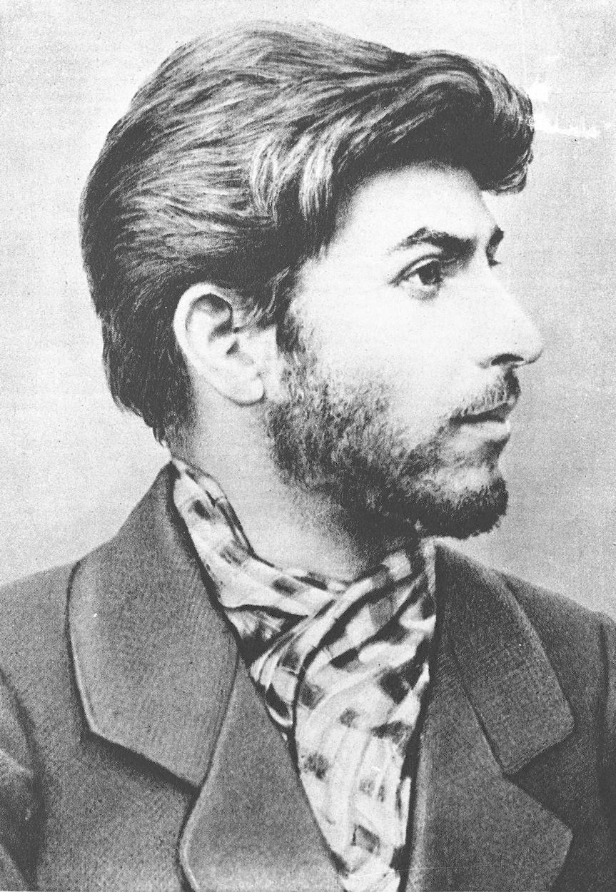 Josif Vissarionovič Stalin ve věku 21 let.