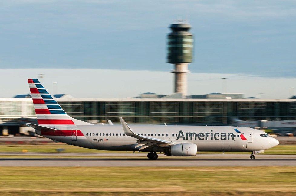 Boeing 737 společnosti American Airlines