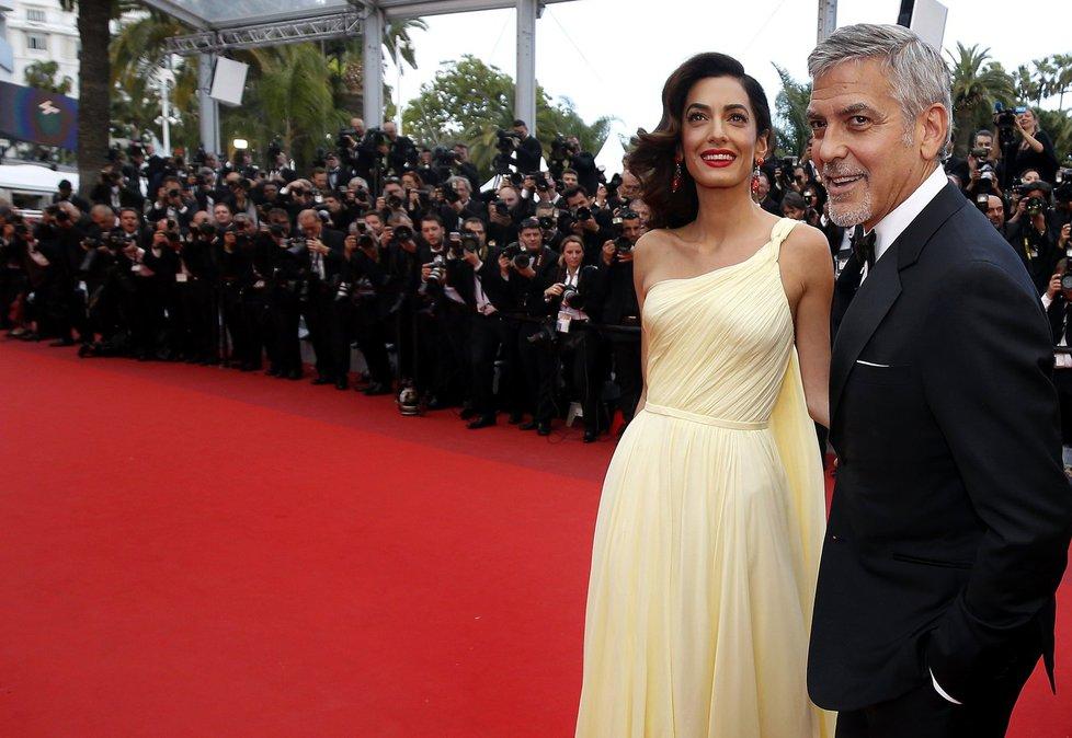 George Clooney s manželkou Amal