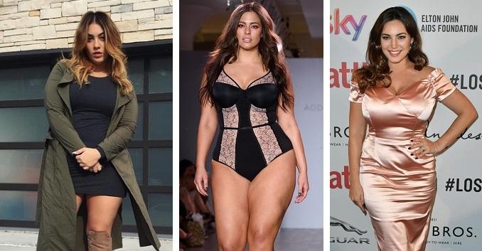 Sexy i s kily navíc  Podívejte se na nejžhavější plus size modelky a ... 91ca17a7be2