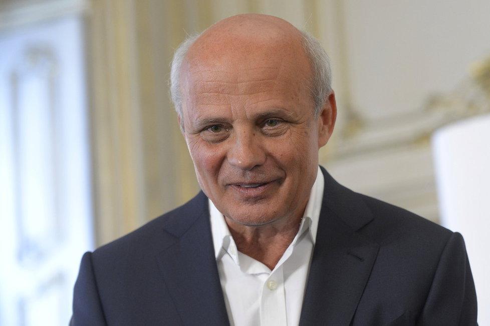 Michal Horáček představil 9. února 2017 svůj tým poradců pro prezidentského kandidáta.