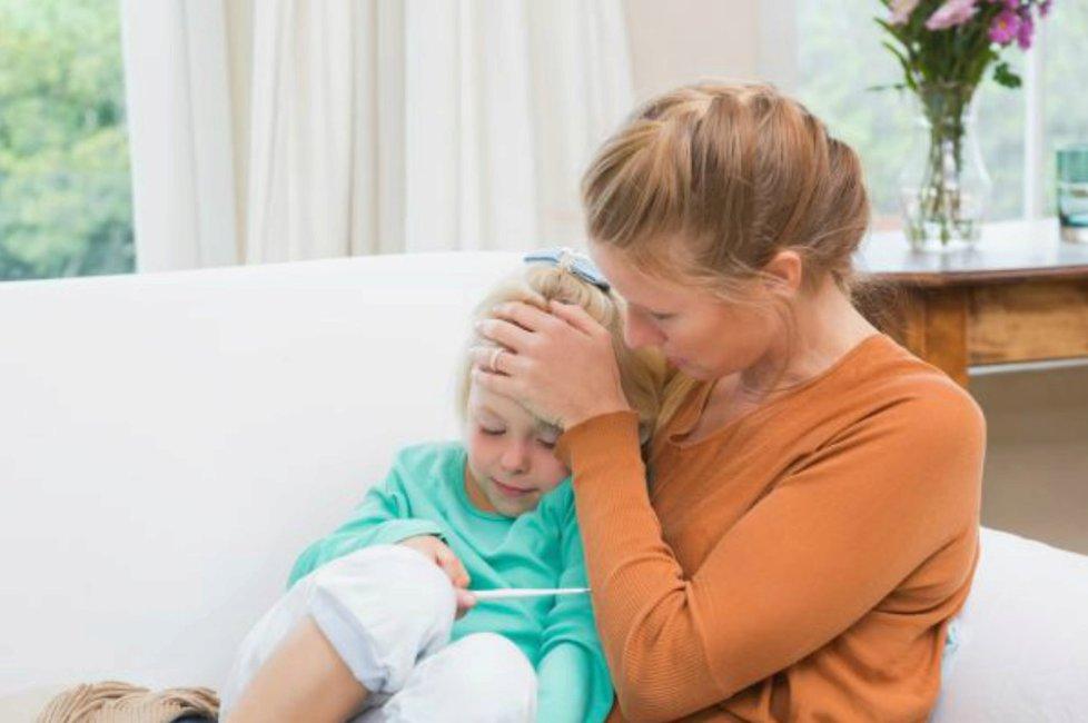 Chřipka nejčastěji napadá děti.