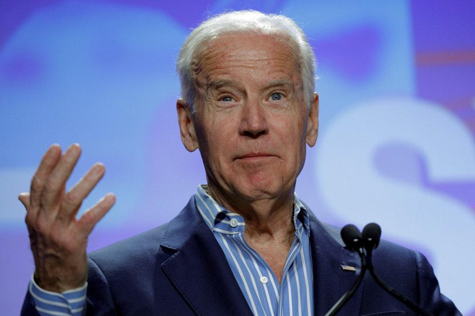 Kandidát na příštího amerického prezidenta Joe Biden