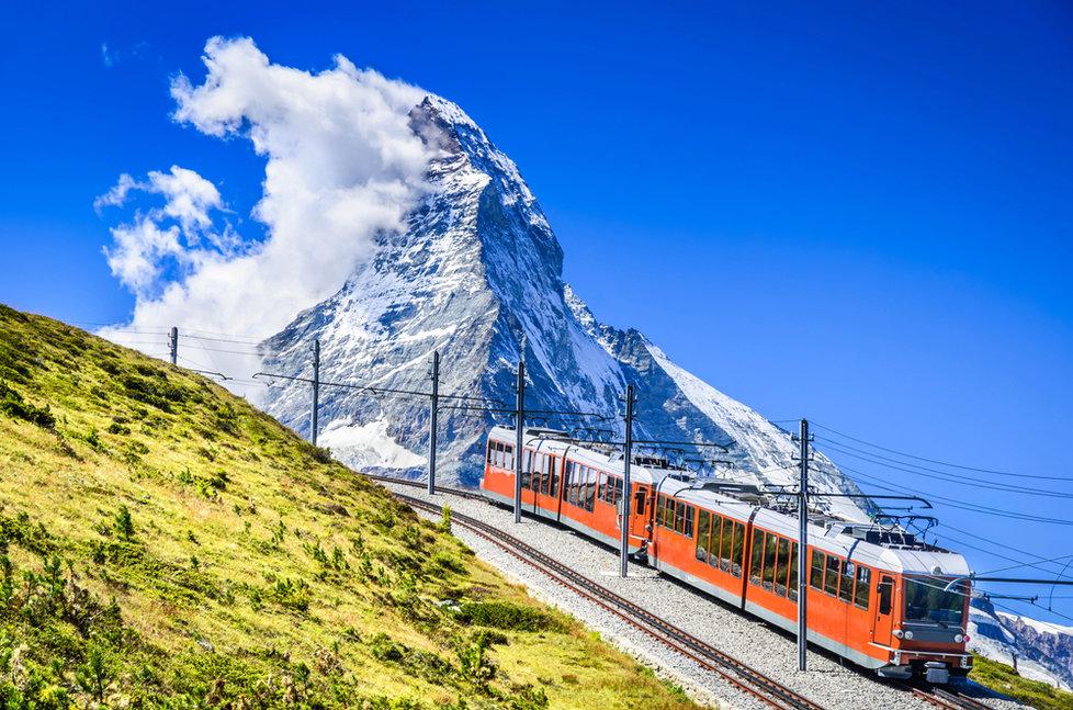 Ozubnicová trať Gornergratbahn