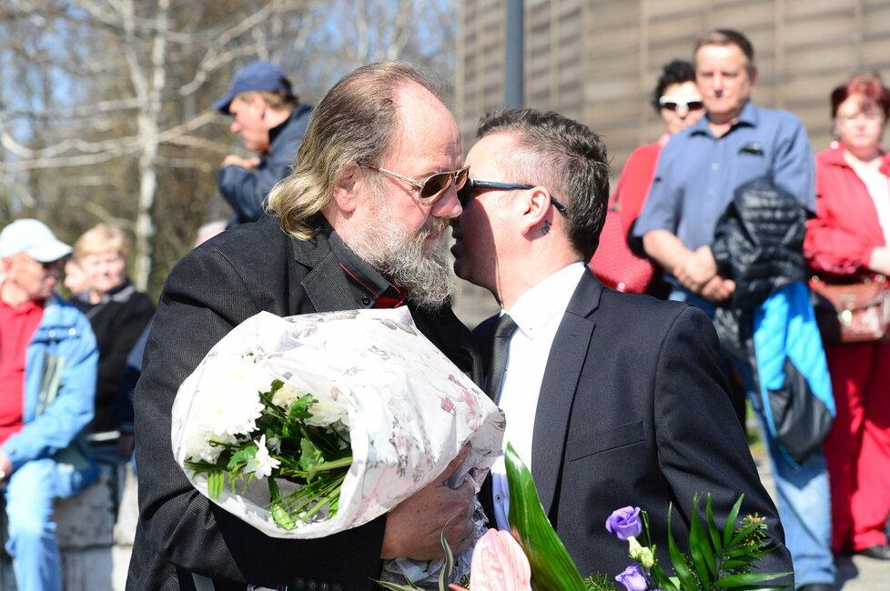 Lešek Semelka a Petr Bende