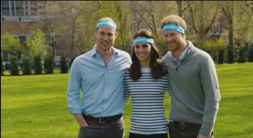 William s Kate a Harrym jsou tváří kampaně Heads Together.