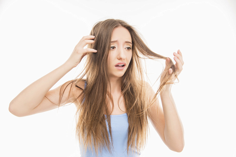 Zničené vlasy