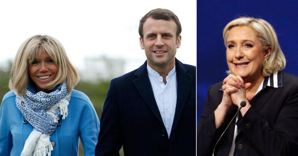 Francouzské volby: Čeští europoslanci komentovali situaci kolem starší ženy Emmanuela Macrona i ambicí Marine Le Penové